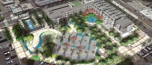 Sonnenblick Development proposed a 148-room high-end luxury hotel, with 15 townhouse suites and 12 free-standing villas. The hotel would also include underground parking, along with other amenities. (Courtesy Sonnenblick Development / Daily Pilot / July 5, 2013)