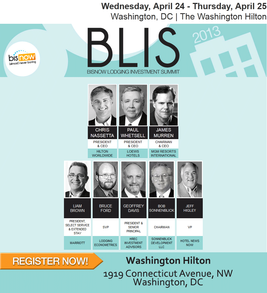 Take advantage of the opportunity to meet with the dozens of hotel brand, ownership, and operator companies in the DC region