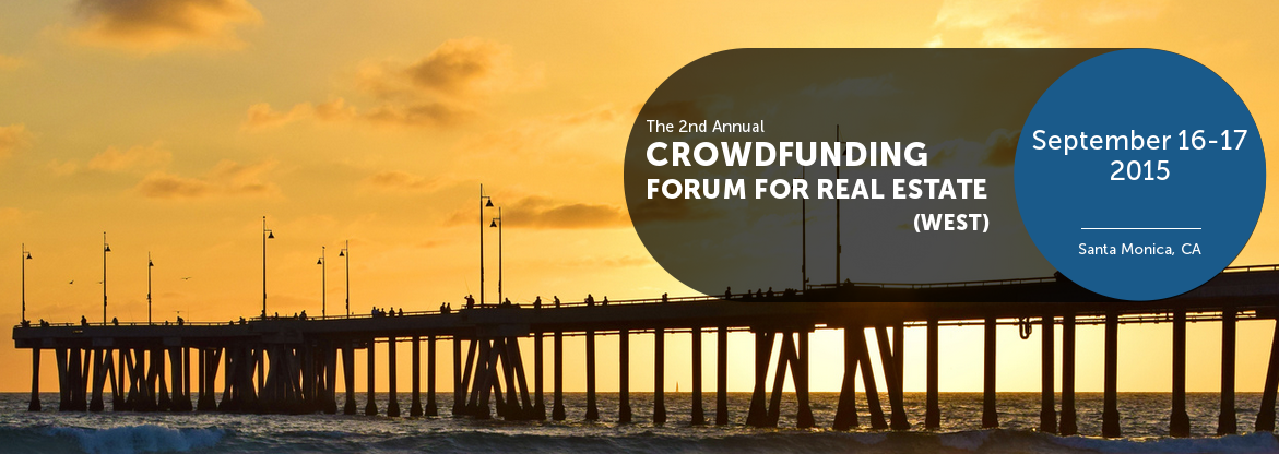 NY-based IMN Real Estate Conferences is pleased to announce its 2nd Annual Crowdfunding Forum for Real Estate, to be held on September 17th at the Fairmont Miramar Hotel in Santa Monica. The lead panel will be moderated by Los Angeles developer Bob Sonnenblick, Chairman of Sonnenblick development LLC, and it will focus on: The Future of Crowdfunding as a Money Source for Real Estate Projects
