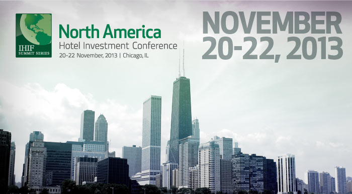 North America Hotel Investment Conference in Chicago Nov. 20-22. 2013