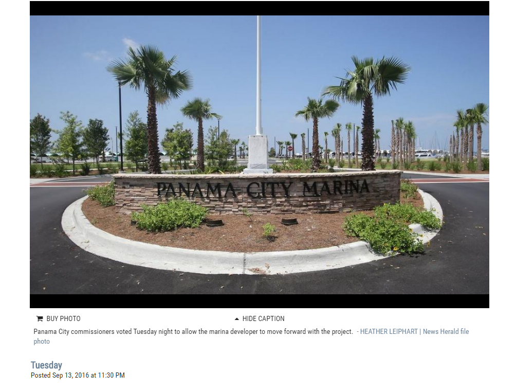 Panama City votes to advance Sonnenblick marina project