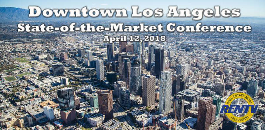 Bob Sonnenblick moderating session on Hospitality Industry at RENTV state of the Market Los Angeles April 12, 2018