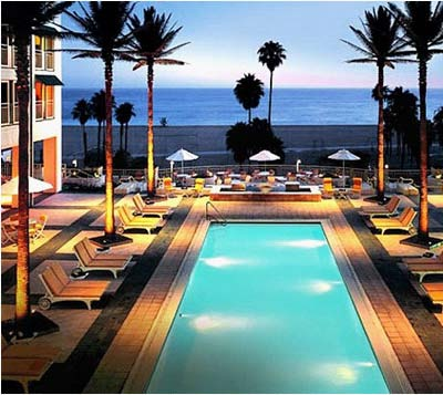 Beach Front Hotel in Santa Monica, CA