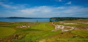 A Los Angeles developer is contemplating building a 220-room hotel and a new golf course at Chambers Bay in University Place, site of the 2015 U.S. Open.