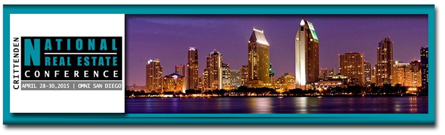 Bob Sonnenblick to Moderate California Real Estate Development - April 28-30 2015 - San Diego, California