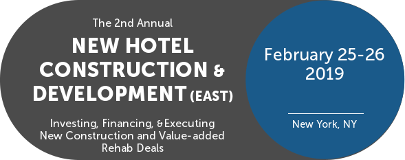 IMN Hotel Development & Construction Conference Feb 25-26-2019